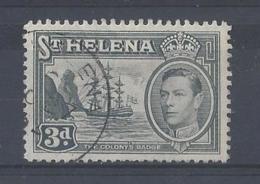 ST. HELENA ....KING GEORGE...VI..(1936-52.)......3d.........SG135a.....CDS.........VFU.... - St. Helena