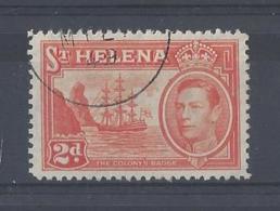 ST. HELENA ....KING GEORGE...VI..(1936-52.)......2d.........SG134........CDS.........VFU.... - St. Helena