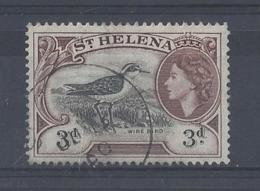 "ST. HELENA ....QUEEN ELIZABETH II..(1952-NOW.)...."" 1953.."".....3d.........SG158........CDS.........VFU.... - St. Helena"