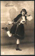 D8000 - Czardas Hübsche Junge Frau Im Kleid - Mode Frisur - Pretty Young Women Kostüm - Fotografie