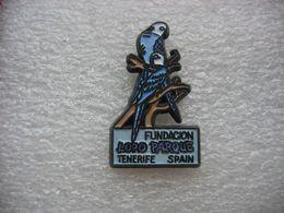 Pin's Fundacion LORO PARQUE à TENERIFE Spain (Fondation LORO PARQUE à TENERIFE En Espagne). Perroquets, Perruches - Dieren