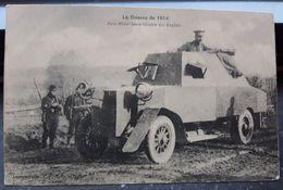WWI UK -special Rare- Armored Machinegun Truck Photopostcard - Matériel