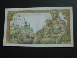 1000 Francs - Mille  Francs Déesse Déméter - Type 1942   5-11-1942   **** EN ACHAT IMMEDIAT **** - 1871-1952 Anciens Francs Circulés Au XXème