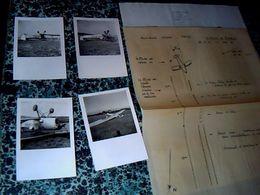 Aviation Archives Secrétariat à L'aviation Civile  Photos Accident Du F.BCKI à Le Mazet De Romanin Le 25/09/ 1960 - Aviación