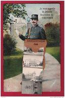 Verviers-  Administration Des Postes - Le Facteur Vous Apporte De Bonnes Nouvelles. Complet Avec 10 Vues. 2 Scans - Verviers