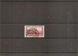 Sarre ( 114 Oblitéré - Variété 1 ) - 1920-35 Saargebiet – Abstimmungsgebiet