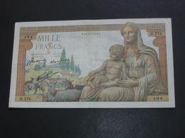 1000 Francs - Mille  Francs Déesse Déméter - Type 1942   28-5-1942 (1 Ere Série)   **** EN ACHAT IMMEDIAT **** - 1871-1952 Anciens Francs Circulés Au XXème