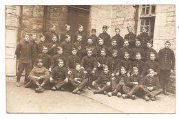 25 - Cartes Photo - BESANCON - Caserne Lyautey - Soldats Du 60e Régiment D'Infanterie - Besancon