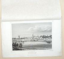 Schoonhoven Van De Rivierzijde Gezien 1858/ Schoonhoven (NL) Seen From The River Side 1858. Schüler, Poppel - Stampe & Incisioni