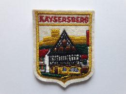 Ecusson Commune De KAYSERSBERG (68) - Patches