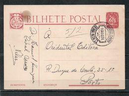 (mec) - Portugal Carte Postale Oblitéré 1951 Ambulancia Beira-Baixa II - Entiers Postaux
