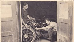 MOTORCYCLE  --   ORIGINAL PHOTO   --  PC FORMAT - Cyclisme