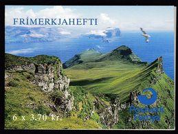Faroe Islands 1991 /Birds - Arctic Tern And Kittiwake / MNH Booklet - Islas Faeroes