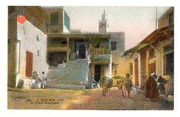 35748-ZE-TUNISIE-SIDI BOU SAID-La Place Principale-----------animée - Tunisia