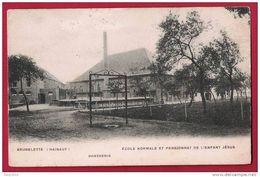 Brugelette. Ecole Normale Et Pensionnat De L'Enfant Jésus. La Brasserie. Circulé En 1905. - Brugelette