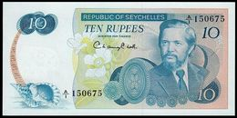 # # # Banknote Seychellen (Seychelles) 10 Rupees UNC # # # - Seychelles