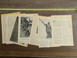 1918 JST A PROPOS DE LA SOCIETE DES NATIONS HOULGARD ISABELLE EBERHARDT JEANNE D ORLIAC SI MOHAMED - Collections