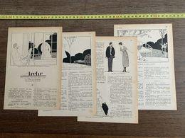 1918 JST L ARCHE COMEDIE PAR LA BOUQUETIERE ANDRE EDOUARD MARTY - Collections