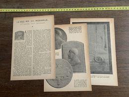 1918 JST L ART DE LA MEDAILLE UN MAITRE LEON DESCHAMPS PAR JACQUES DES GACHONS - Collections