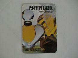 Perfumery Matilde Almada E Cova Da Piedade Portugal Portuguese Pocket Calendar 1987 - Calendari