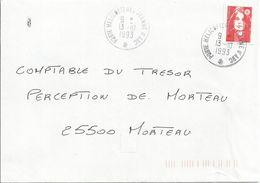 Cachet Manuel Porte-hélicoptères Jeanne D'Arc Du 13-10-93 - Marcophilie (Lettres)