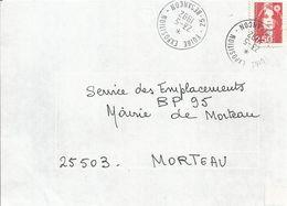 Cachet Manuel Foire-Exposition De Besançon Du 23-5-92 - Marcophilie (Lettres)