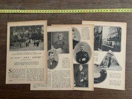 1918 JST AU PAYS D EN JOFFRE HENRY COSSIRA LES CORBIERES RIVESALTES - Collections