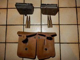 Lot De 2 Chargeur Pour FSA 49/56 Plus  Munitions Neutralisées Et Porte Chargeur - Militari