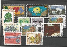 6, 735 ,725 E 9 Timbres          (boitsorblan) - Wallis E Futuna