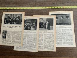 1918 JST BALE RECOIT LES RAPATRIES FRANCAIS NOELLE ROGER - Collections