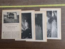 1918 JST CAPITALE POURSUIVIE PAR LES VOLCANS CIUDAD VIEGA GUATEMALA CONTRESTY AGUA - Collections