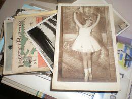 Ballet Children Old Photo Postcards - Danse