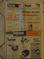JM04.07 / VIEUX PAPIERS / PUBLICITE / REFLETS DE DINANT - NOVEMBRE 1978  / 45 X 29 Cm - Pubblicitari