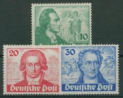Berlin 1949 Goethejahr 61/63 Mit Neugummierung (R19215) - Unused Stamps