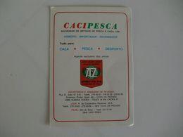 Cacipesca Cova Da Piedade Almada Portugal Portuguese Pocket Calendar 1985 - Calendari