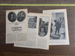 1918 JST COFFRE FORT DE MONSIEUR LE SURINTENDANT MAURICE LEVAILLANT FOUQUET - Collections
