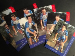 Mutelle De Seine Et Marne - 1997- Complete Set - 19 Cartes / Cards - Cyclists - Cyclisme - Ciclismo -wielrennen - Cyclisme