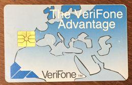 USA VERIFONE DEMONSTRATION DUMMY CARD PAS PHONE CARD TELECARTE CARTE À PUCE SMART CARD - France