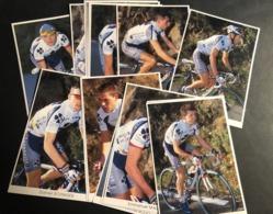 Francais Des Jeunes - 2001 - Complete Set - 19 Cartes / Cards - Cyclists - Cyclisme - Ciclismo -wielrennen - Cyclisme