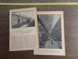 1918 JST COIN DE LA BELGIQUE EN ANGLETERRE ELISABETHTOWN DUHSAM FABRICATION DES MUNITIONS DE GUERRE - Collections