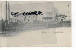 57  COURCELLES SUR NIED GRUSS GARE 1899 - Autres Communes