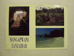 34546 - TANZANIA - MANGAPWANI ZANZAIBAR - ZIE 2 FOTO'S - Tanzania