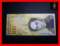 VENEZUELA 100.000 100000 Bolivares 7.9.2017 P. 100 A UNC - Venezuela