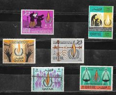 1968 QATAR 20th Anniversary Of Declaration Of Human Rights Complete Set MNH Very Fine Mint - Qatar