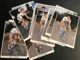 Francais Des Jeunes - 2002 - Complete Set - 19 Cartes / Cards - Cyclists - Cyclisme - Ciclismo -wielrennen - Cyclisme