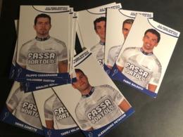 Fassa Bortolo - 2002 - Complete Set - 25 Cartes / Cards - Cyclists - Cyclisme - Ciclismo -wielrennen - Ciclismo