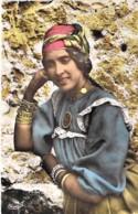 AFRIQUE NOIRE - GHANA Gold Coast : Jeune Fille Du Sud  Young Girl - CPSM Dentelée Colorisée Format CPA 1960 Black Africa - Ghana - Gold Coast