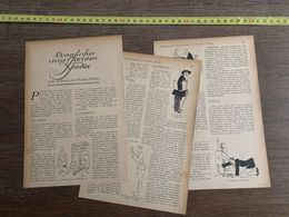 1918 JST CONSEILS D UN VIEUX PARISIEN A UN JEUNE YANKEE MAURICE DEKOBRA - Collections