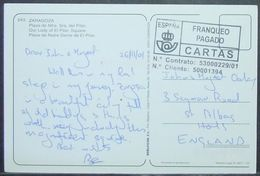Spain - Meter Postcard To England 2001 - Portofreiheit