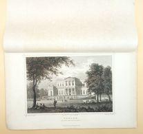 Haarlem Paviljoen Welgelegen 1858/ Haarlem (NL) Pavilion Welgelegen 1858. Rohbock, Heisinger - Stampe & Incisioni